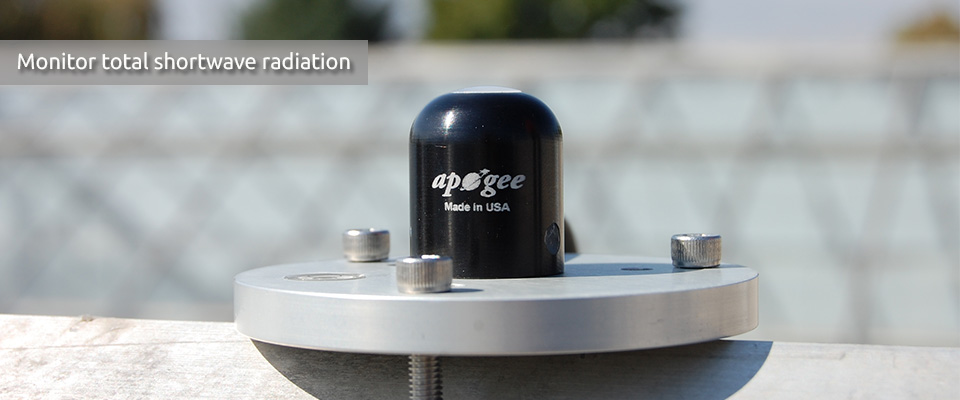 Pyranometer Solar Radiation Sensors from Apogee Instruments