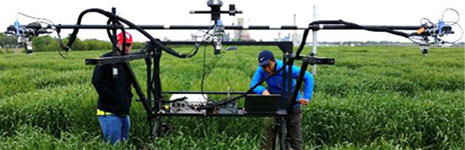 High Throughput Field Phenotyping Multi-sensor System