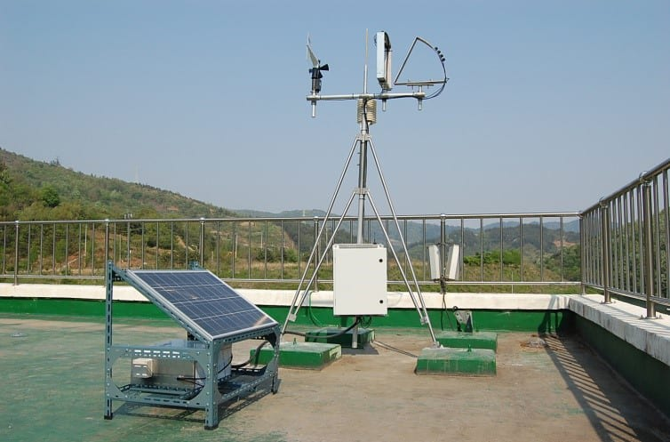 Apogee SP-110 pyranometers being used to find new solar plant locations