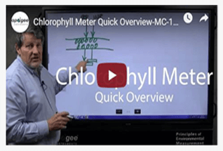 Watch videos to learn more about our chlorophyll concentration meters.