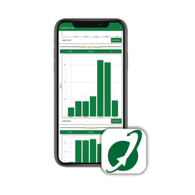 The Apogee Connect app is free and available for download on the App Store or Google Play.