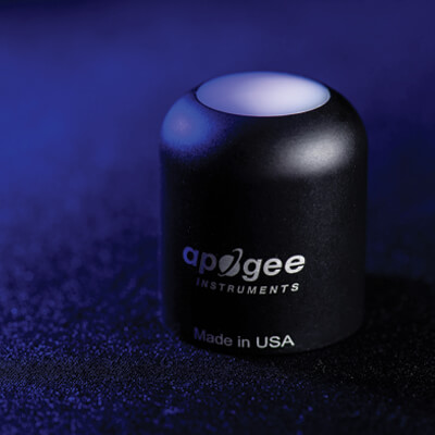 An Apogee PAR-FAR sensor head.