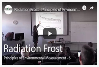 Watch videos to learn more about our leaf and bud temperature sensors and radiation frost.