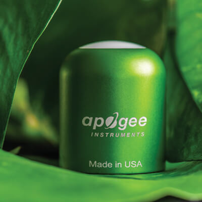 Apogee SE-100 photometric sensor head.