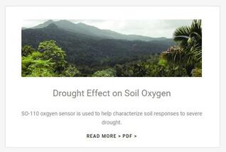 Apogee Instruments oxygen sensor case studies.