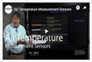 Watch videos to learn more about our temperature sensors.