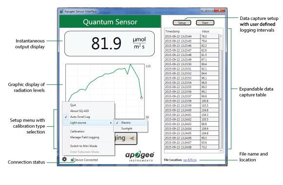 SQ-420 Software